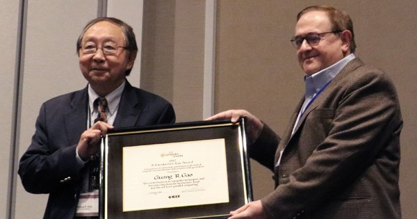 UD Professor Honored by IEEE Computer Society