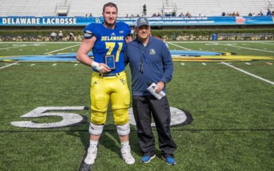 Blocker and Engineer, Collin Wallish Helps Blue Hens