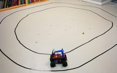 Student Team Builds Mini Self-Driving Cars